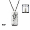 Star Wars Pendentif officiel Han Solo dans carbonite