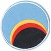 Cosmos 1999 ecusson des pilotes de la base Alpha