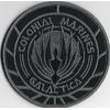 Ecusson Battlestar Galactica porté par les Marines du vaisseau colonial