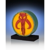 Star Wars serre livres logo mandalorien Boba Fett