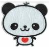 Ecusson brodé panda