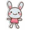 Ecusson brodé lapin