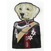 Ecusson brodé Chien en uniforme