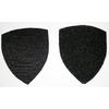 Velcros pour ecusson type police