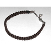 Bracelet Hank Moody macramé marron vu dans la serie Californication