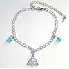 Bracelet Charmed Symbole Pouvoir des 3 soeurs Halliwell