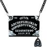 Pendentif réplique d'une planche ouija comme vu dans la série Charmed