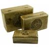 Boite en bois symbole celte motif triquetra comme vu dans Charmed