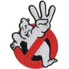 Ecusson Ghostbusters logo no ghost SOS fantomes 3