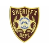 Ecusson the Walking Dead Sheriff King County de Rick Grimes