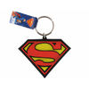 Porte cles officiel logo Superman en pvc