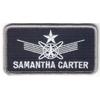Ecusson nametape de Samantha carter comme vu dans Stargate SG1