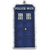 Ecusson du tardis police box comme vu dans la serie Doctor Who