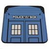 Sous-verre Tardis police box en pvc serie Doctor Who