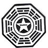 Ecusson Dharma Initiative station Securité vu dans Lost