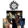 Tatouage anti possession vu sur Dean et Sam dans Supernatural