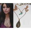 Collier d'Elena cage à oiseau vu saison 5 de Vampire Diaries
