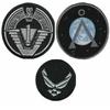lot de 3 ecussons de l'equipe Stargate SG1