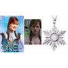 Réplique pendentif flocon d'Anna dans Once upon a time