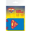 Porte cartes Superman officiel en pvc