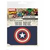 Porte cartes Captain America officiel en pvc
