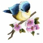 ecusson-oiseau-fleurs