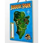 tableau-en-bois-jurassic-park-isla-nublar