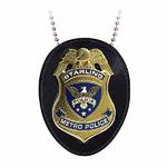 badge-police-starling-city-et-porte-badge-cuir
