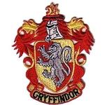 Ecusson brodé blason maison Gryffondor vu dans Harry Potter