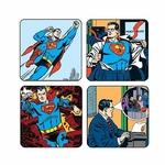 pack-de-4-sous-verres-superman-retro