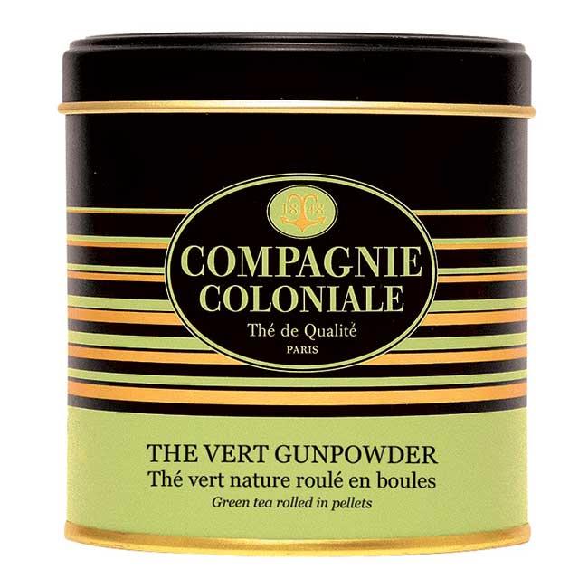 Thé Vert Gunpowder en boîte métal luxe 130 g