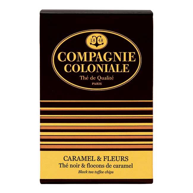 Thé Caramel & Fleurs en boîte de 25 sachets Berlingo