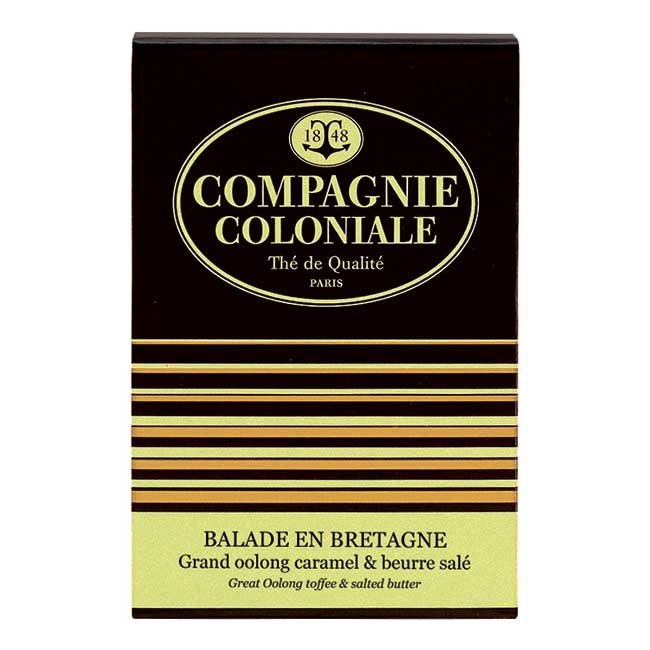 Thé Balade en Bretagne en boîte de 25 sachets Berlingo