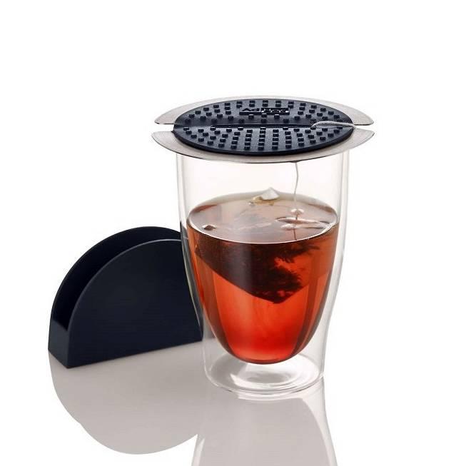 Presse et support à thé Squeetea