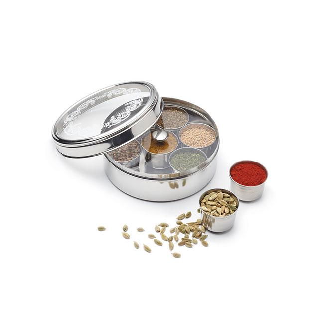 Massala Dabba (boîte à épices indienne)
