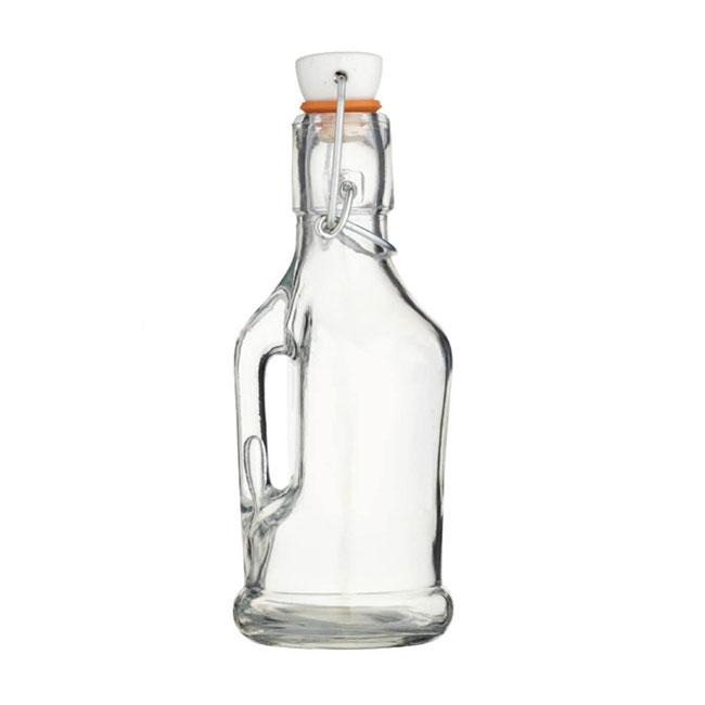 Bouteille en verre 210 mL avec anse