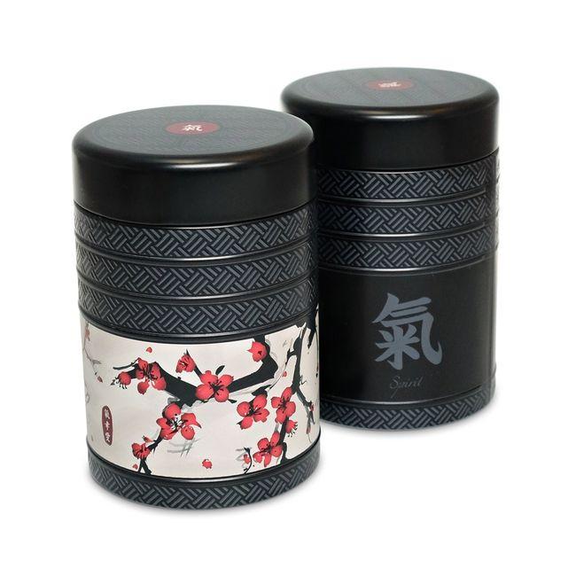 Lot de 2 boîtes à thé Cherry Kyoto - 125g