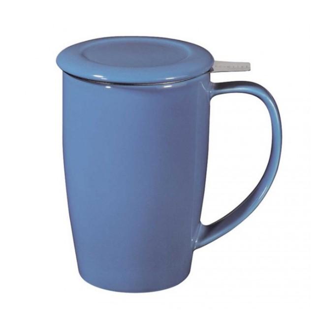 Tisanière Curve - 45 cl - bleu