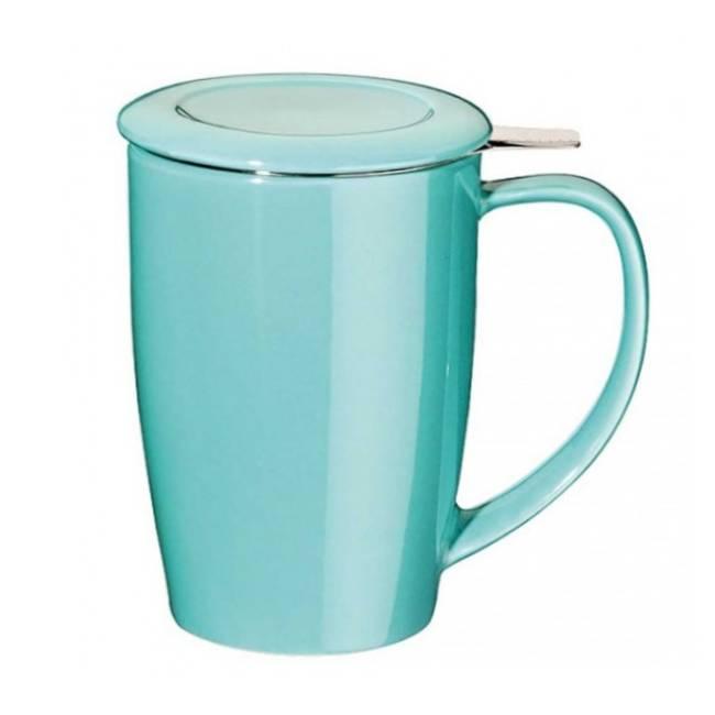 Tisanière Curve - 45 cl - turquoise