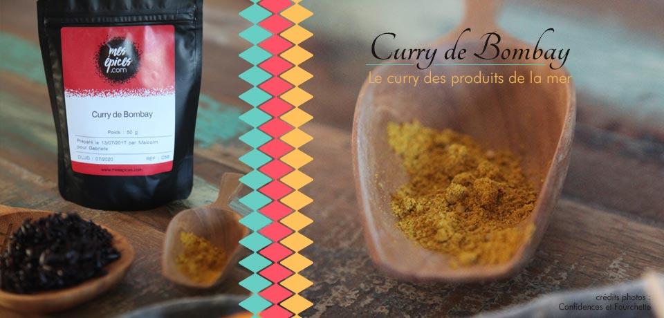 Le Curry de Bombay, le curry idéal pour tous vos plats à base de poissons, crustacés ou coquillages