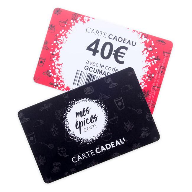 Carte Cadeau 40 €