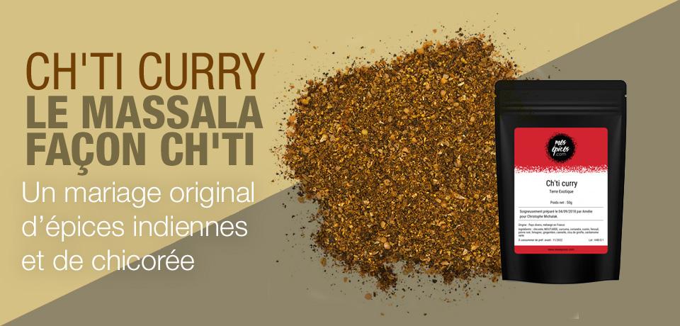 Une création originale, mêlant une base classique de curry indien et la fameuse chicorée (qu'on met aussi dans le café !). Surprenant et réussi !