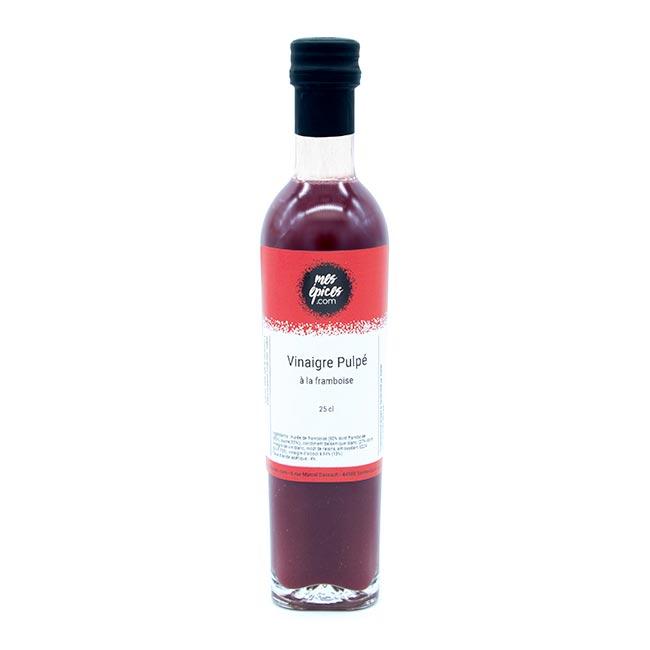 Vinaigre à la pulpe de framboise - 25cl