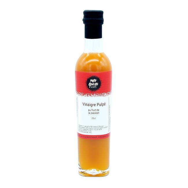 Vinaigre à la pulpe de fruit de la passion - 25 cl