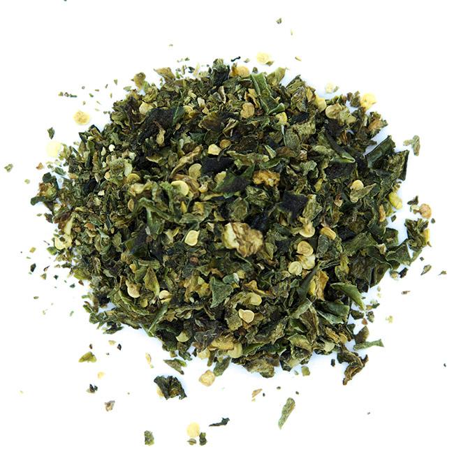 Piment Jalapeno vert en flocons