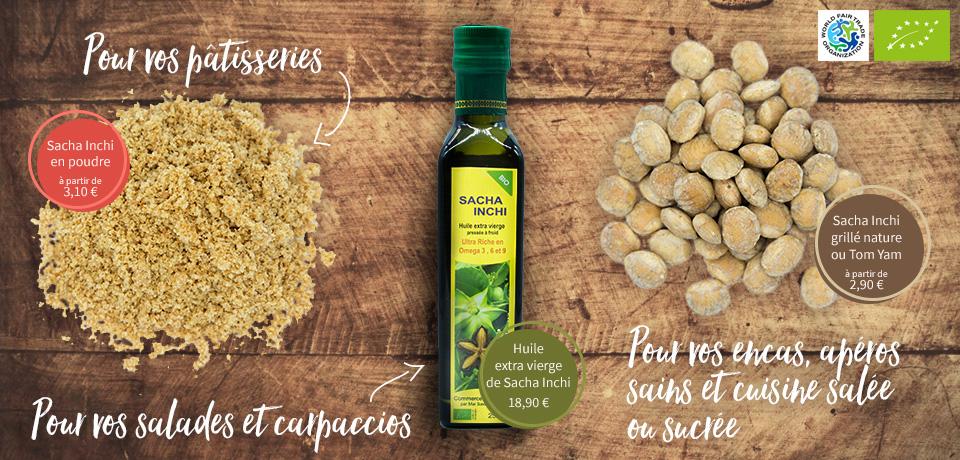 Découvrez le goût extra du sacha inchi et ses merveilleuses propriétés santé !