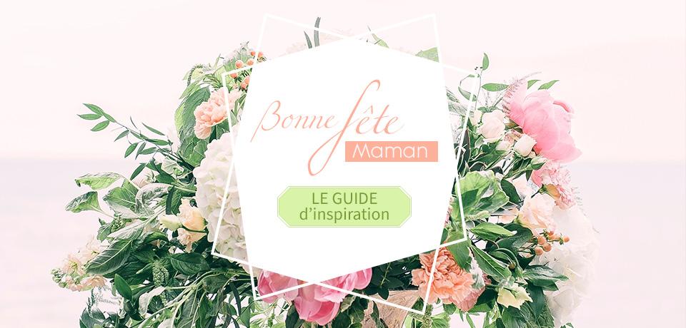 Parcourez notre guide d'inspiration pour trouver un cadeau original et personnalisé pour la fête des mères.