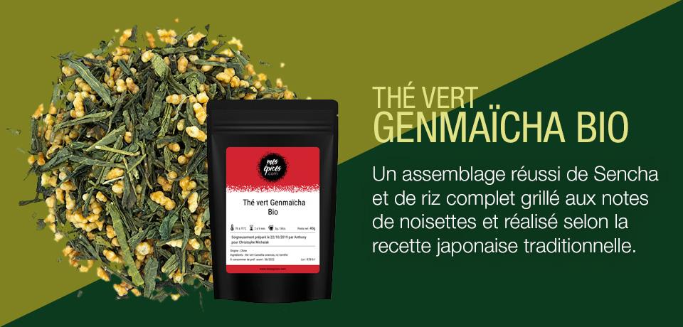 Un assemblage réussi de Sencha et de riz complet grillé aux notes de noisettes et réalisé selon la recette japonaise traditionnelle.