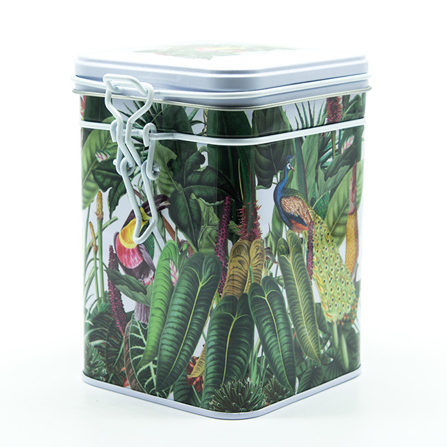 boite-a-the-rainforest-blanc-150g-metal-hermetique-motif-tropical