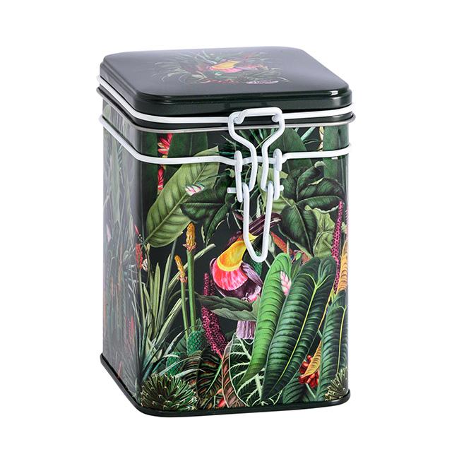 Boîte à thé Rainforest noire - 150 g